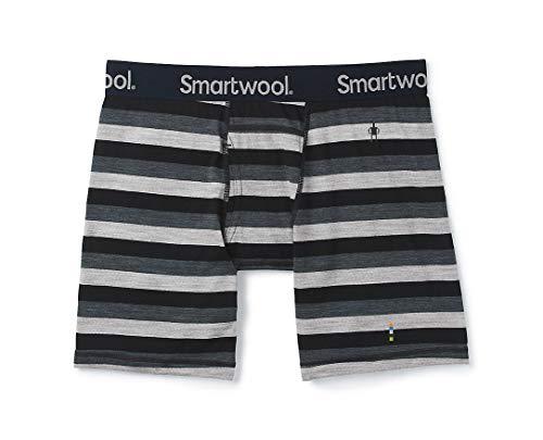 Smartwool Merino 150 Boxershorts Herren Iron Stripe Größe XXL 2020 Unterwäsche