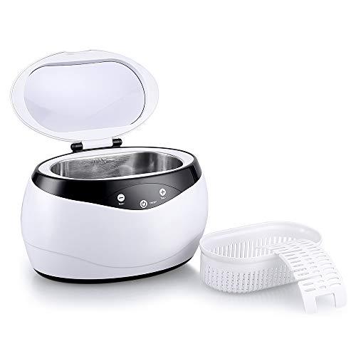 himaly Ultraschallreiniger,650ML Ultraschallreiniger Reinigungsgerät Ultraschallreinigungsgerät Reiniger Reinigungswerkzeug Reinigung von Schmuck Uhren Brillen Zahnersatz