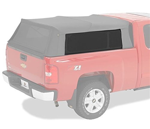 Bestop 7632035 Black Diamond Tinted Window Replacement Kits for Supertop for Truck