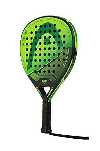 Head Genesis - Raqueta de Tenis, Color Verde y Negro