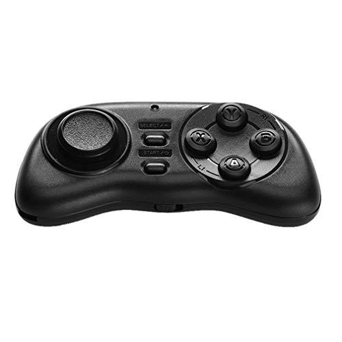 Game Handle VR Remote Wireless Handle Mini Descompresión Juguetes Controlador de Juegos para PC/Smart TV/iOS/Android Joystick (Negro)
