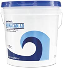 Boardwalk HURACAN40 Low Suds Industrial Powder Laundry Detergent, Fresh Lemon Scent, 40lb Pail (2-(40lb Pail))