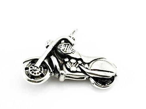 Ciondolo moto Harley-Davidson di argento