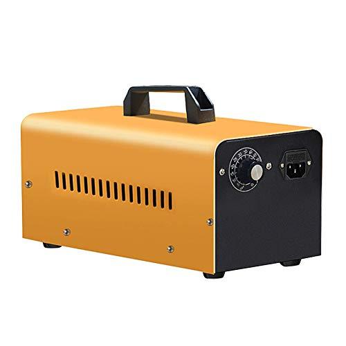 GXXDM Generador de ozono Industrial/doméstico 16,000 MG/H - Purificador de Aire O3, para el hogar, oficinas, restaurantes, fábricas, automóviles, generador de ozono portátil con Temp