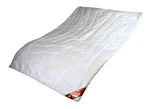 Sommer Bettdecke Kaschmir Steppbett 155x220 Natur Steppdecke Cashmere