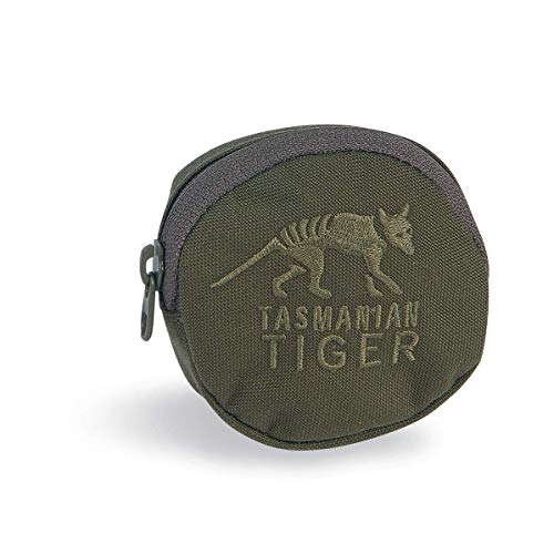 Tasmanian Tiger TT - Funda protectora para caja de tabaco, accesorios de limpieza, latas de snus, auriculares, mochila, bolsa adicional Molle System (oliva)