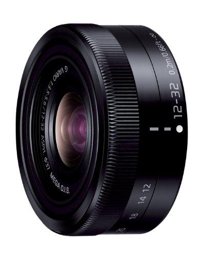 パナソニック 標準ズームレンズ マイクロフォーサーズ用 ルミックス G VARIO 12-32mm/F3.5-5.6 ASPH./MEGA O.I.S. ブラック H-FS12032-K