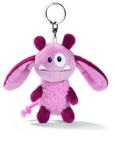 NICI 33385 - Schlüsselanhänger Monster 10 cm, rosa