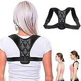 Corrector de Postura, OUZIGRT Corrector Postura Espalda Ajustable de Alta Elasticidad, Soporte de Espalda y Corrección de Cifosis