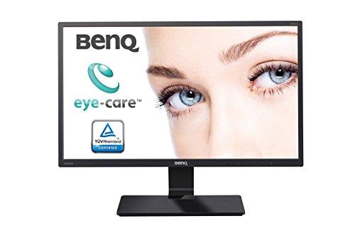 BenQ GW2470HM - Monitor para PC Desktop de 23.8' (1920 x 1080, con altavoces, VGA/DVI/HDMI, Low Blue Light, Flicker-free) color negro