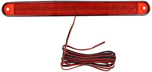 HELLA 2DA 959 071-537 Zusatzbremsleuchte - LED - 12V - Lichtscheibenfarbe: rot - Einbau - Kabel: 2500mm