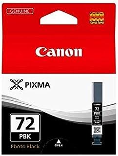 Canon Photo Ink Black PGI-72PBK PGI-72 PBK, Original, 6403B001 (PGI-72 PBK, Original, Dye-Based Ink, Photo Black, Canon PI...