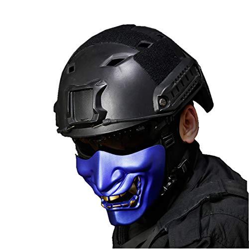 haoYK Casco de Deporte Multiusos Protector táctico Airsoft Paintball Negro Tipo BJFast...