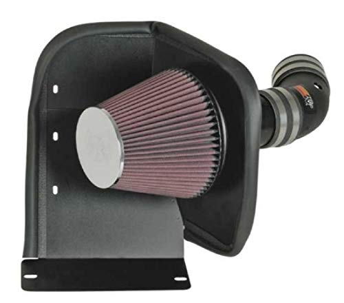 K&N Cold Air Intake Kit: High Performance, Increase Horsepower: Compatible with 2006-2009 Chevy/Pontiac (Impala, Monte Carlo, Grand Prix) 5.3L V8,63-3059