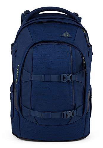 Satch Set Ocean Dive Schulrucksack Pack Regenhülle blau