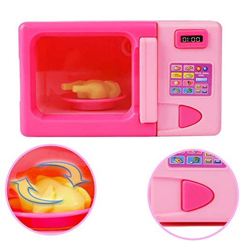BeesClover Kit de Juguete de Cocina para microondas para niños, Juego Educativo