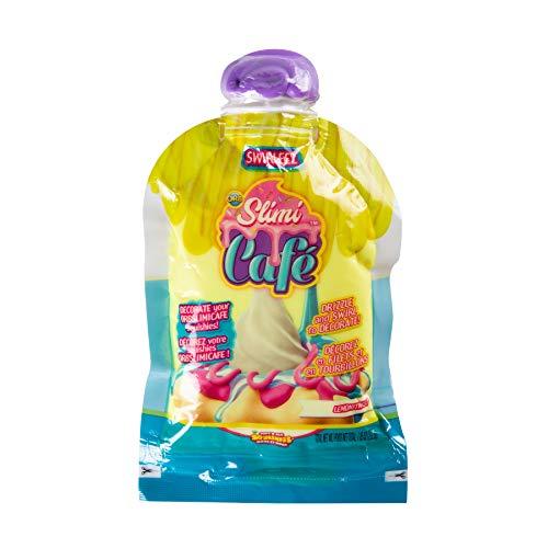 ORB 35778 Slimi Cafe Compound Swirleez Lemonitwist - Set de Accesorios para Crear Tiras de Nata (púas Amarillas y limonadas, Juguete para niños a Partir de 8 años), Color Amarillo
