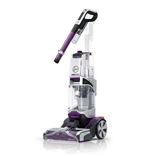 Hoover SmartWash Automatic Carpet Cleaner Machine with Spot Chaser Stain Remover Wand, Shampooer Machine for Pets, FH53000PC, Purple