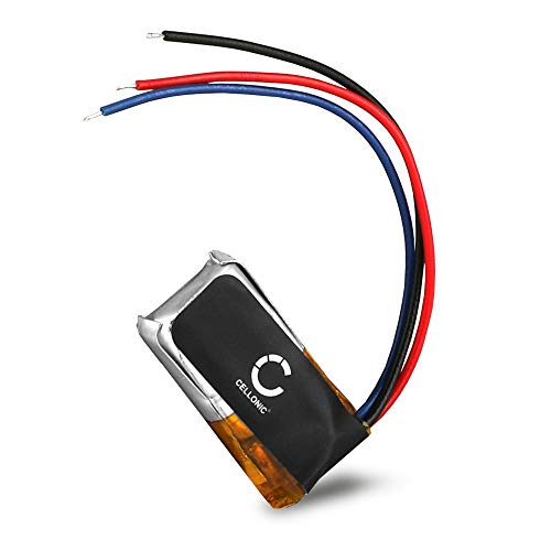 CELLONIC® Qualitäts Akku kompatibel mit Beats Powerbeat 2 Wireless Powerbeats 2 Wireless Powerbeats 3 Wireless, CPP-566 90mAh Ersatzakku Batterie