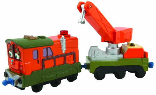 Chuggington LC55014DE Calley - Locomotora interactiva de Juguete con vagón de Rescate