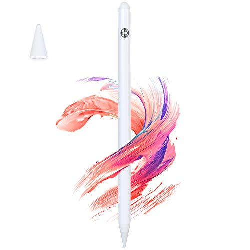 Mees 3rd Generation Enhanced Stylus Pen for iPad 2018 - 2020 with Palm Rejection, iPad Pencil for Drawing and Writing, for iPad Pro 11(1st/2nd)/Pro 12.9(3rd/4th), iPad 6/7/8th Gen/Air 3rd/Mini 5th