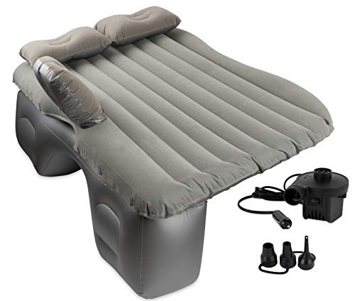 OLIVIA & AIDEN Inflatable Car Air Mattress with Pump (Portable) Travel, Camping, Vacation | Back...
