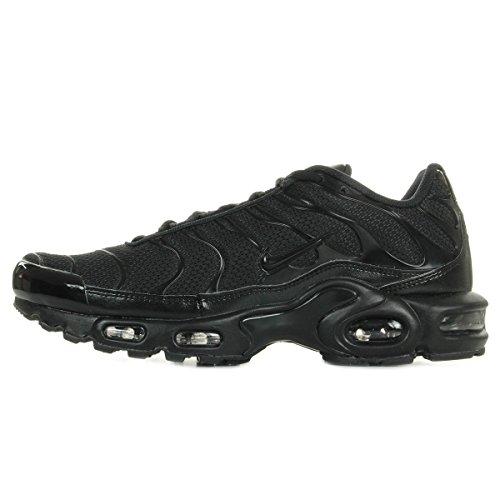 Nike Air Max Plus, Scarpe da Ginnastica Basse Uomo, Nero (Black/Black-Black 050), 44 EU