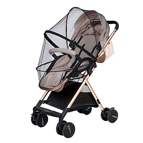 TOSSPER Moskitonetz Für Kinderwagen, Kinderwagen, Buggy, Baby-Kinderwagen Anti-Bug Netting Schutzgitter Kinderwagenzubehör