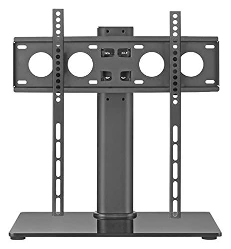 Con articulación universal de mesa televisor De pie,pared giratoria televisor El soporte del soporte for 21-55 LCD OLED LED Las pantallas planas de plasma curvas,altura ajustable for trabajo pesado te