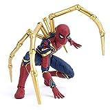 GYH Avengers Infinity War Iron Spider 15cm BJD Spiderman Super Hero Figura Modelo Juguetes para niño...