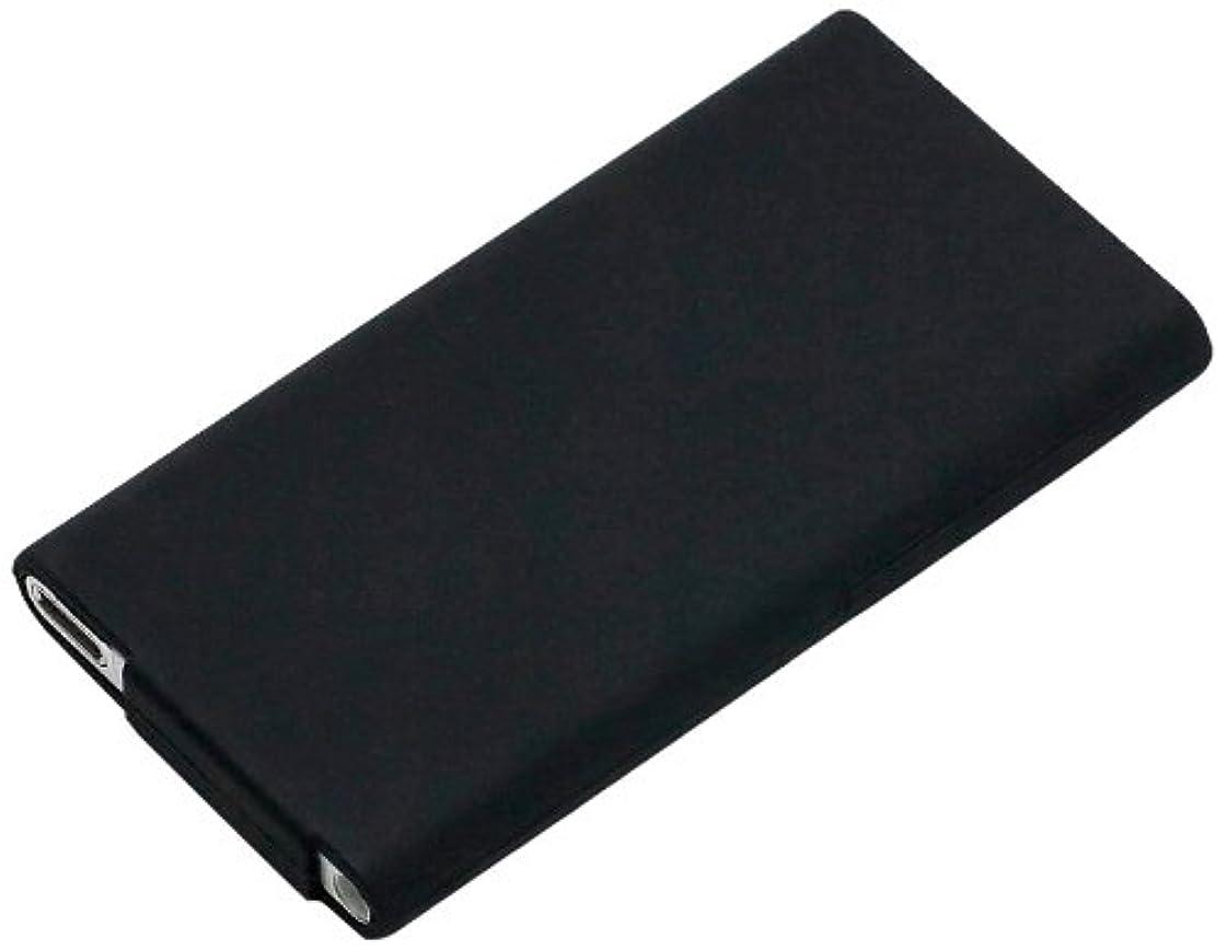 荒廃する実業家退却iJacket iPod nano用シリコンケース ブラック PG-IPNA7SC01BK
