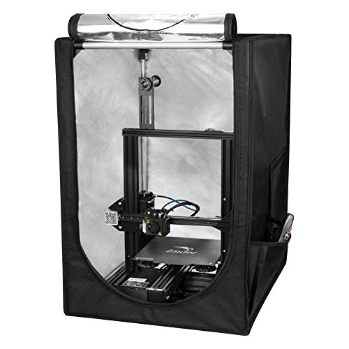 Comgrow Creality 3D Printer Enclosure Fireproof and Dustproof Mini 3D Printer Tent for Ender 3/Ender 3 pro/Ender 5, Constant Temperature Protective Cover Room