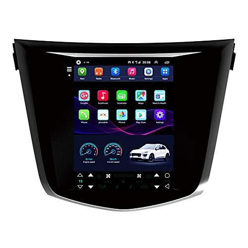 Kilcvt Sistemas De Navegación GPS para Automóvil, 9 Pulgadas/Android 10 para Nissan X-Jun Qashqai 2014 Soporte De Pantalla Vertical Control del Volante/Pantalla HD/FM/Am/Bluetooth,4g WiFi 2g+32g