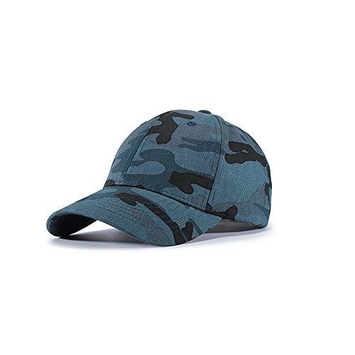ZZYJYALG Sombreros para hombres camuflaje caza sombrero de béisbol bosque ajustable verde camo camionero gorra vintage lavado apenado algodón papá sombrero béisbol gorra de béisbol ajustable polo cami