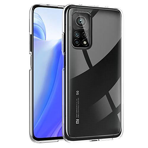 """deconext Cover Transparente per Mi 10T/10T PRO, Custodia Gel TPU Morbido Sottile Silicone Flessibile Bumper Ultra Leggera e Chiaro per Xiaomi Mi 10T/10T PRO(2020) 6,67"""""""