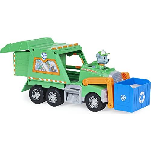 Paw Patrol Rockys Deluxe-Recycling-Truck mit Sammelfigur und 3 Werkzeugen