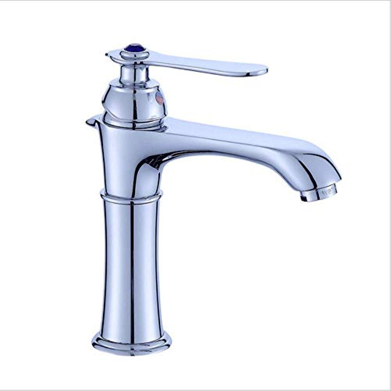 Moderner Hahn-Badezimmer-Hahnbassin-Hahn-Bassin-Hahn-Grünikaler mischender Hahn des heien und kalten Wassers