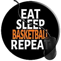 マウスパッド 睡眠バスケットボールを繰り返すバスケットボールのママ選手 マウスパッド 耐久性が良い 滑り止めゴム マウス用パット 2T97