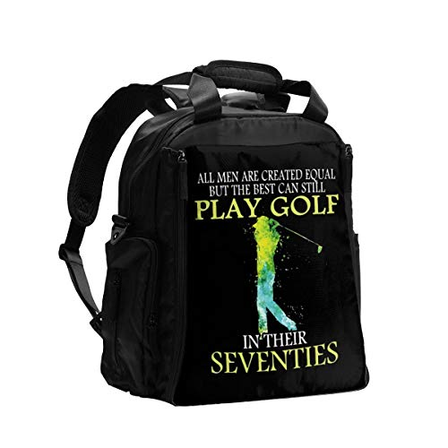 The Best Can Still Play Golf in Their Seventies Diaper Bag Backpack Waterproof Multi-Function Baby Changing Bags Maternity Nappy Bags Durable Large Capacity for Mom Dad Travel Baby Care