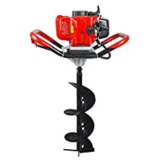 Gas Powered Post Hole Digger is equipped with a low failure rate and easily maintained air cooling two-stroke engine. With compact structure,beautiful appearance and convenient operation method, it is lightweight and easy to start. This post hole dig...