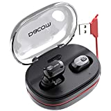 DACOM Wireless Headphones Bluetooth 5.0 True Wireless Earbuds, 72H Playtime TWS Bluetooth Earphones with Mic,1100mAh Backup Charging Case Built in Unique Charging Cable (2020 Newest Upgraded Version)