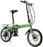 YUNLILI Mehrzweck KLINGELN Kinder Fahrrad Kinder faltrad 16-Zoll Student klapping Fahrrad mädchen...