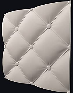 Pads Plastic Molds for 3 D Panels Plaster wall stone Form 3D decor wall panels