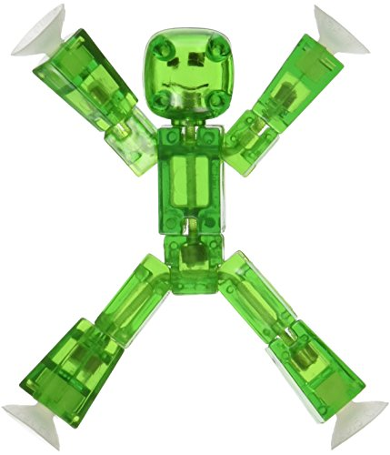 Stikbot, Translucent Green Figure, 3 Inches