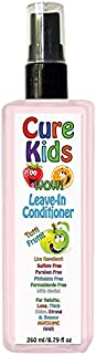 Cure Kids Leave-In Hair Conditioner Tutti Fruity Conditioning for your kids Detangle Detangling Safe children child baby b...