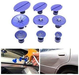 9pcs Car Dent Repair Pulling Tabs Paintless Body Slide Damage Removal Tool Blue - Car Repair & Maintenance Car Repair Equipments - 9 X Repair Tabs