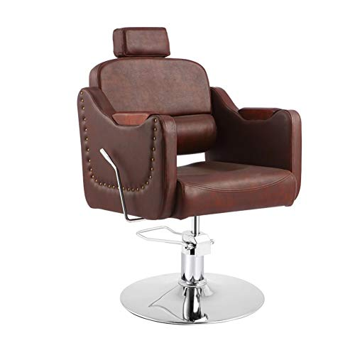 Best Buy! MASP Barber Chair Salon Chair Hairdressing Chairs Salon Lift Swivel Chair Modern Hair Barb...
