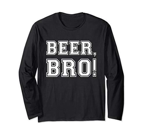 Beer Bro Dude Oktoberfest Design - Lustiges Bier Geschenk Langarmshirt
