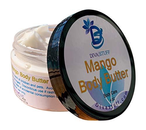 Mango Tango Body Butter, with Fresh Mangos, By Diva Stuff, 4oz by Diva Stuff