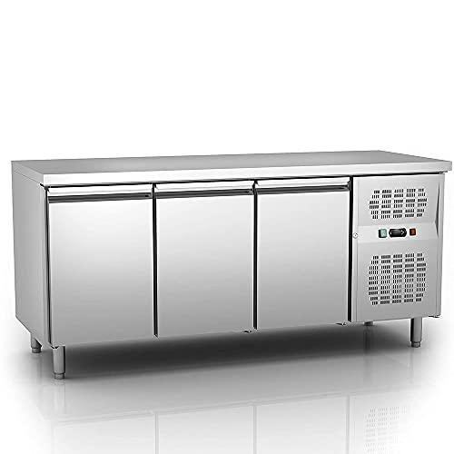 Carina 3-Türer 400 Liter Theke Kühlschrank / Theke Gefrierschrank / gewerblicher Kühlschrank Temperatur: -15 ~ -20 ℃